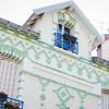 Maisons colorées de Paris #1