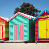 Sandringham, la côte balnéraire de Melbourne