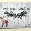 White Winter Party by Truffaut