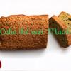 Cake Gluten Free au thé vert Matcha