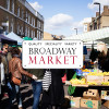 {Londres} Déjeûner sur Broadway Market
