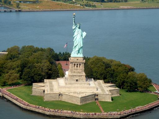 Statue de la Liberté NYC - Survol en hélicoptère