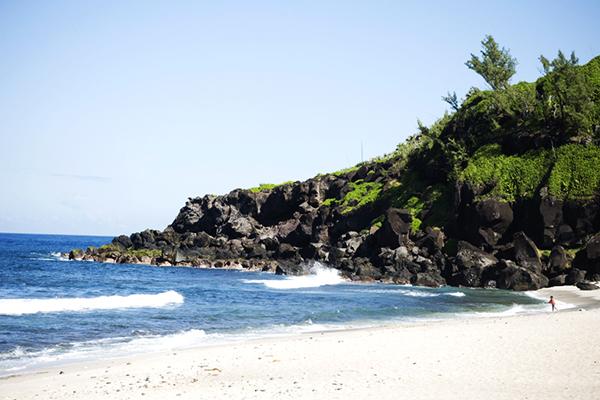 Plage de Grande Anse dans le sud sauvage de la réunion