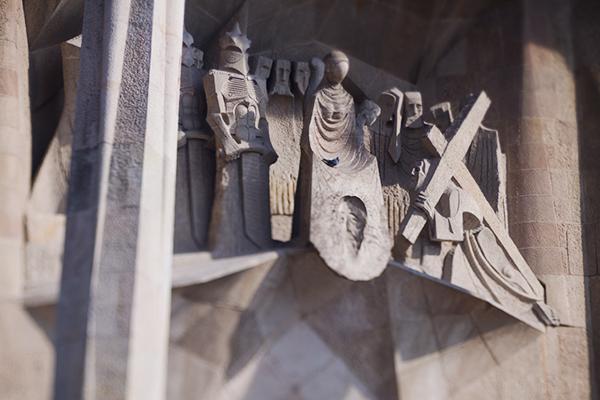 Architecture de Barcelone espagne