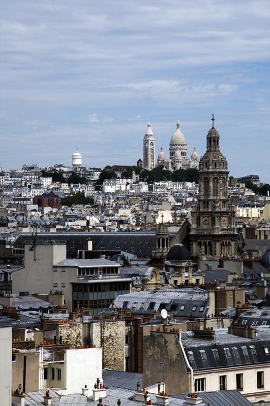 Point de vue sur Paris - Montmartre