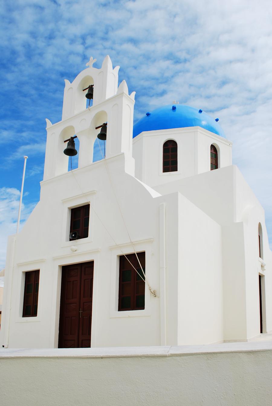 Eglise à santorin