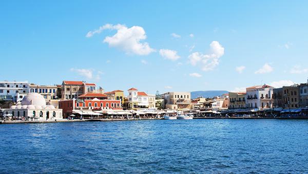 Ville de La Chanée en Crète