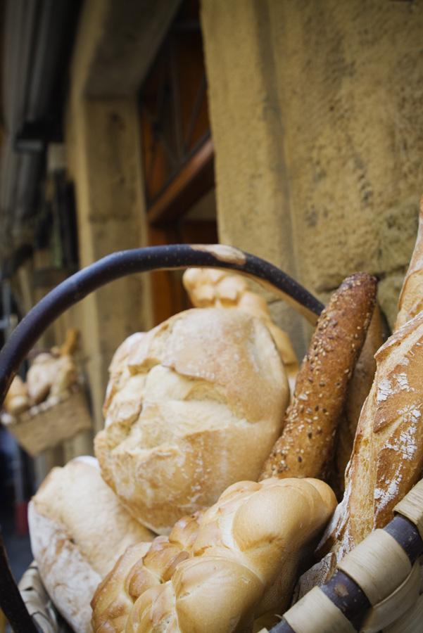 Entrée d'une boulangerie espagnole