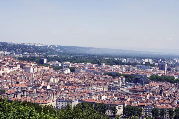 Quartier des Pentes de la Croix-Rousse à Lyon