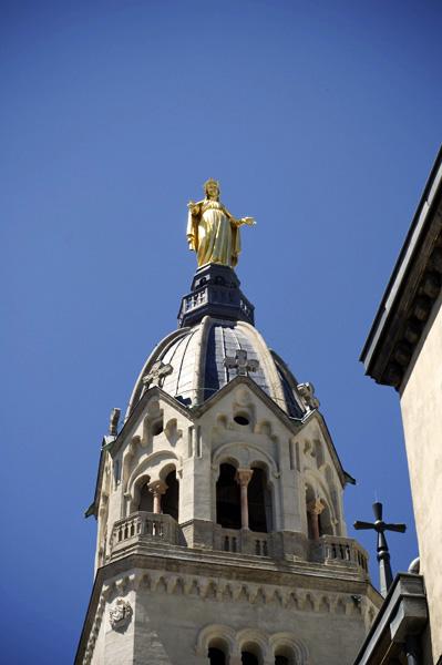 La Vierge veillant sur la ville de Lyon