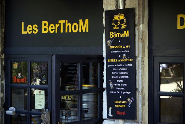 Bar à bières Les Berthom à Lyon