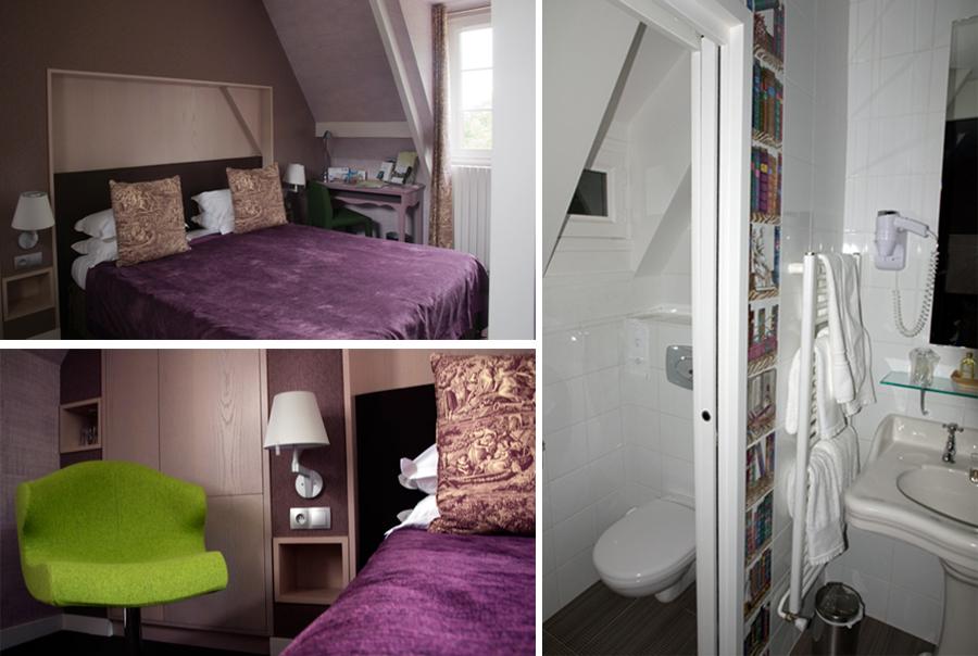 Ma chambre au Manoir du Lys - Bagnoles de l'Orne