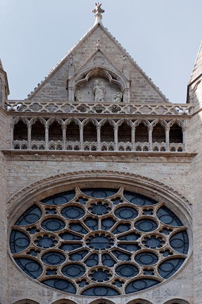 Rosace à l'Est de la Cathédrale de Chartres
