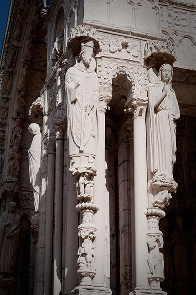 Colonnes de la Cathédrale de Chartres