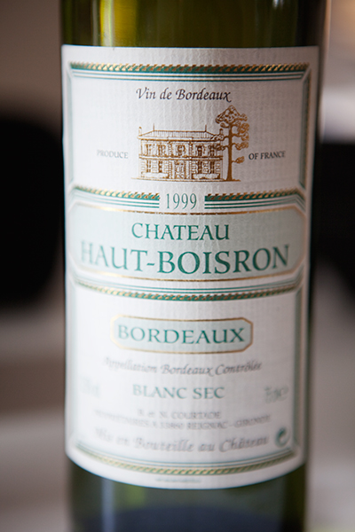 Bordeaux Haut-Boisron de 1999