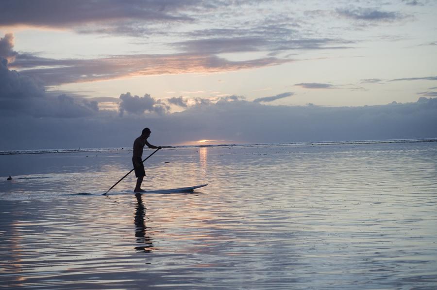 Coucher de soleil à l'Hermitage - Meilleur moment pour le Stand-Up Paddle