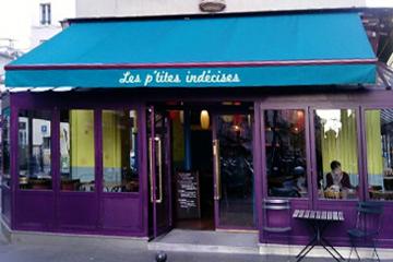 restaurant les petites indécises paris
