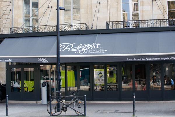Le bistrot Regent à Bordeaux
