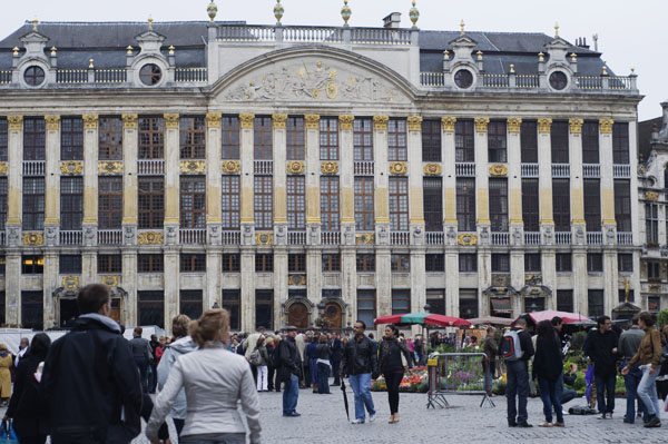 la Grand'Place de Bruxelles