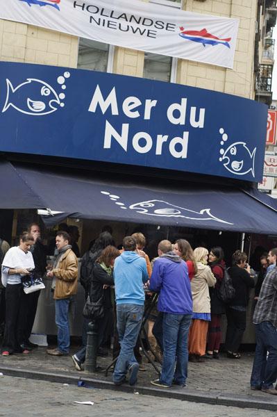 Ste Catherine, où manger du poisson à Bruxelles