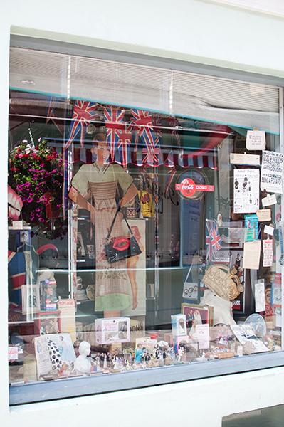 vitrine vintage londres