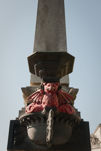 Le dragon symbole du pays de galles