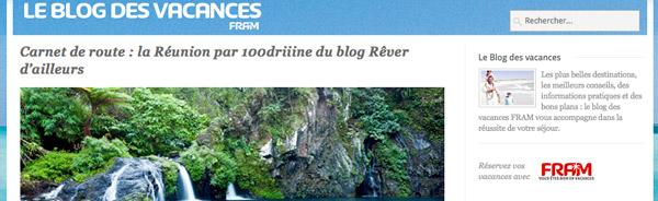 Interview carnet de route sur la Réunion