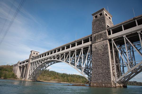 Le pont de Menai