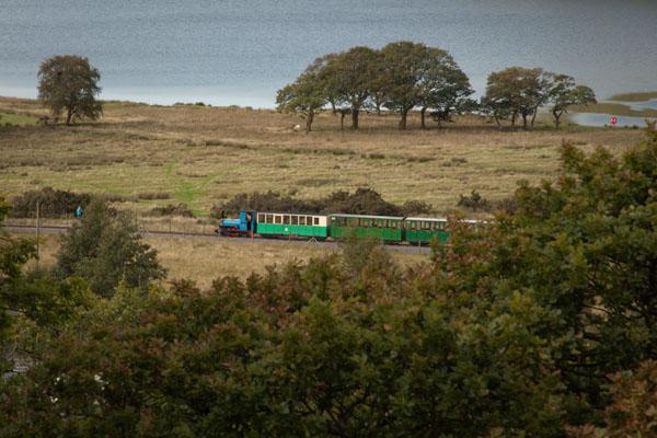 Un train à vapeur
