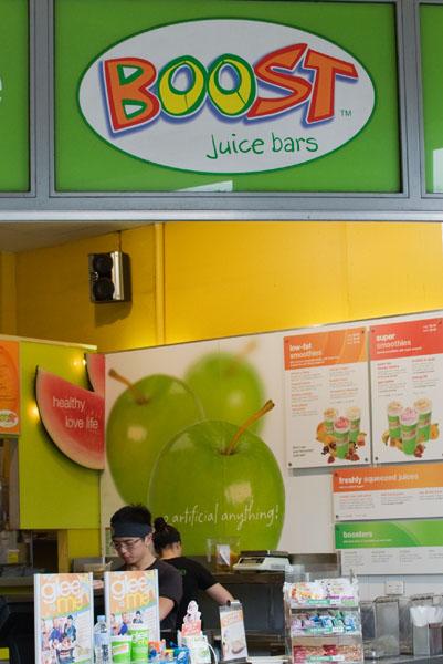 Boost jus de fruits frais mixés melbourne