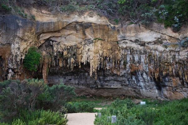 Plage de Loch and Gorge - Derrière