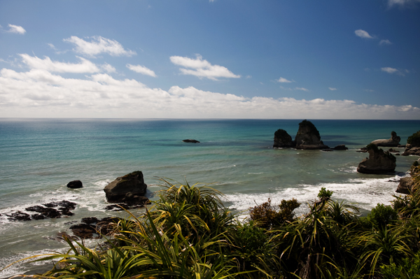 Nouvelle Zélande côte ouest - Paparoa national parc