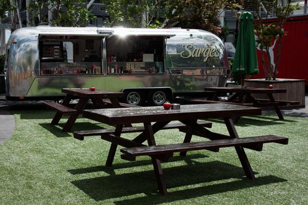 Terrasse de café à Auckland