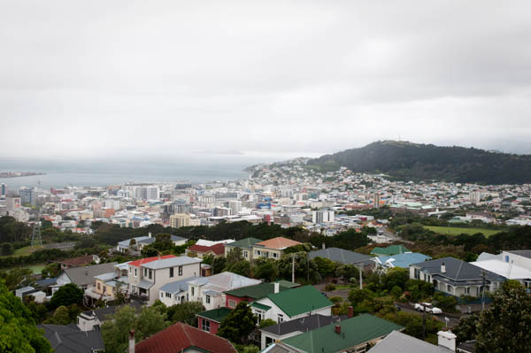 Point de vue sur Brooklyn de Wellington