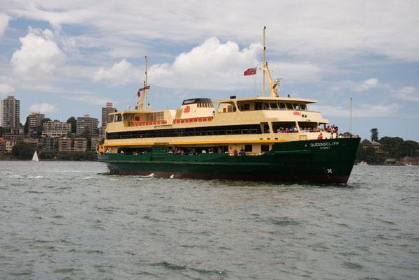 Se déplacer en ferry à Sydney
