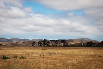 Paysage de Nouvelle-Zélande - île du sud