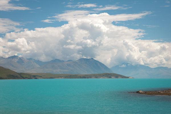 tekapo Lake Nouvelle-Zélande