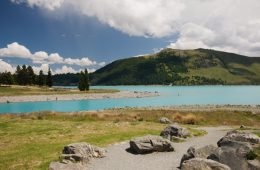Tekapo Lake - Nouvelle-Zélande