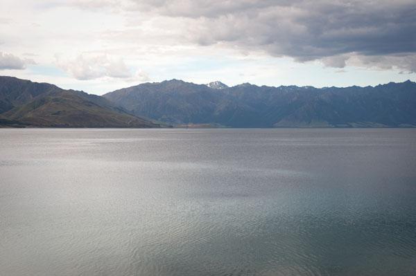 Lake Hawea proche de wanaka