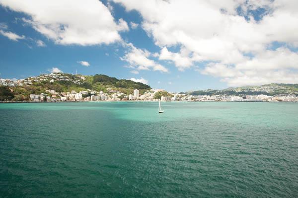 Quitter Wellington en ferry