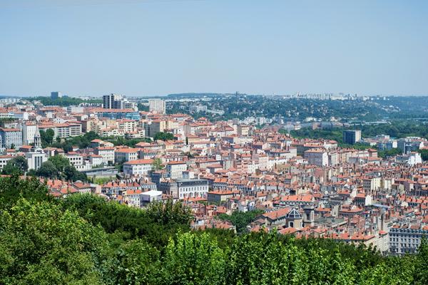 Lyon - Pentes de la Croix-Rousse