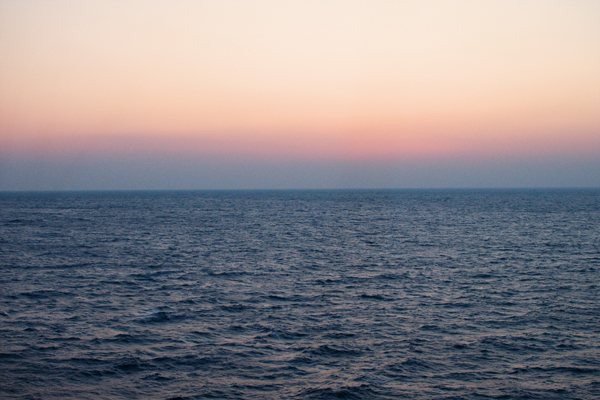 Levé du soleil sur la Corse