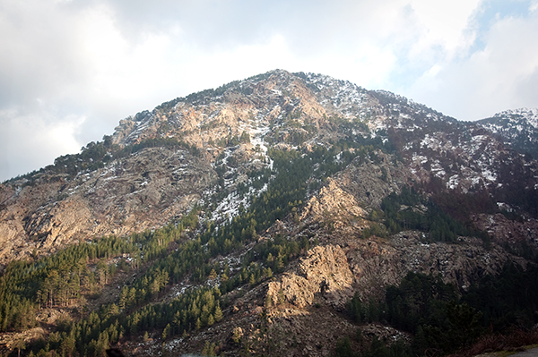 Montagnes corses
