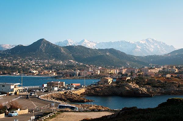 Ile Rousse en Balagne Corse