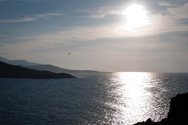 Coucher du soleil sur Ile Rousse