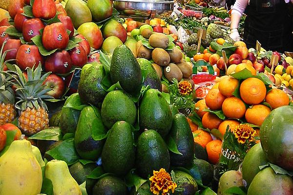 Marché de fruits et légumes à Grenade