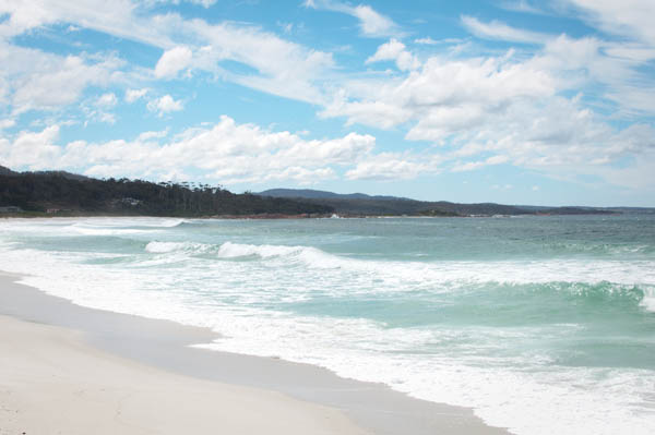 Bays of Fires tasmanie