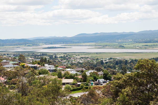 Point de vue sur Launceston tasmanie