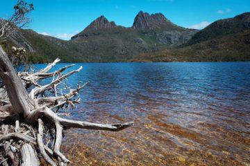 Dove Lake à Craddle Moutain en Tasmanie