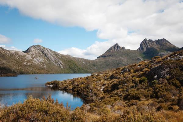 Dove lake randonnée Craddle Moutain Tasmanie